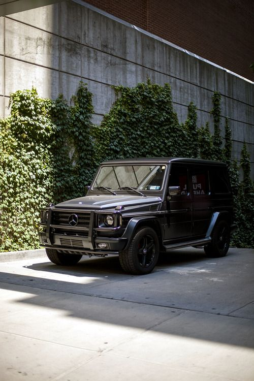 17 best images about matte black g wagon on pinterest for Mercedes benz jeep matte black