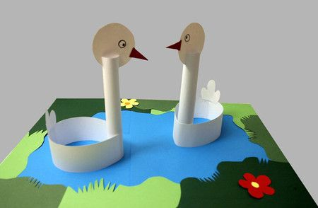 picture book study ugly duck swan craft