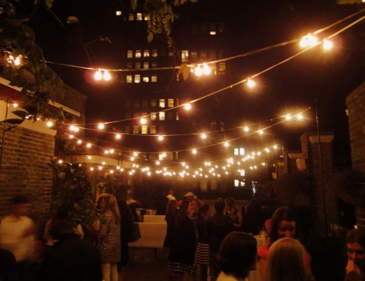 Outdoor Wedding Lights Decor Ideas These String Lights Are Very Easy To Use
