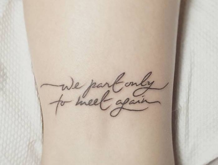 ▷ 52 + great ideas and pictures about tattoo font wrist