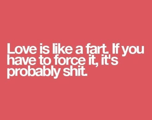 Love Is Like A Fart