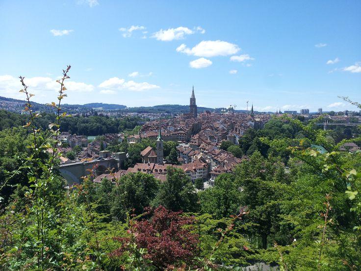 Altstadt.Rosengarten . Bern . ada k.a