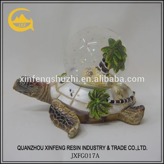 Polyresin Schildpad Sneeuwbol/Water Globe/Sneeuw Bal voor Decoratie-afbeelding--product-ID:60410376260-dutch.alibaba.com