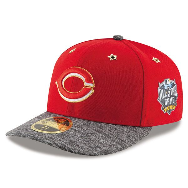 Cincinnati Reds New Era 2016 MLB All-Star Game Patch Low Profile 59FIFTY Fitted Hat - Red - $29.99