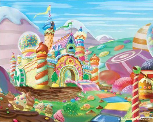 Candy Land Castle : Animated Inspiration ccbb : Pinterest ...