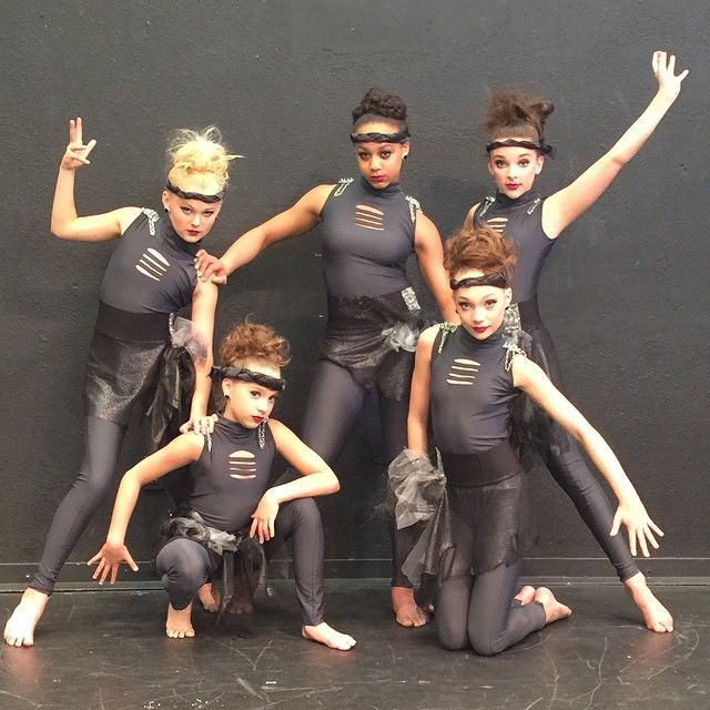 New group dance The Panic Room! But don't panic because they won first at a recent comp. Credit @Unicronluva3