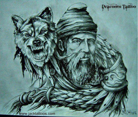 Old Dacian Character.