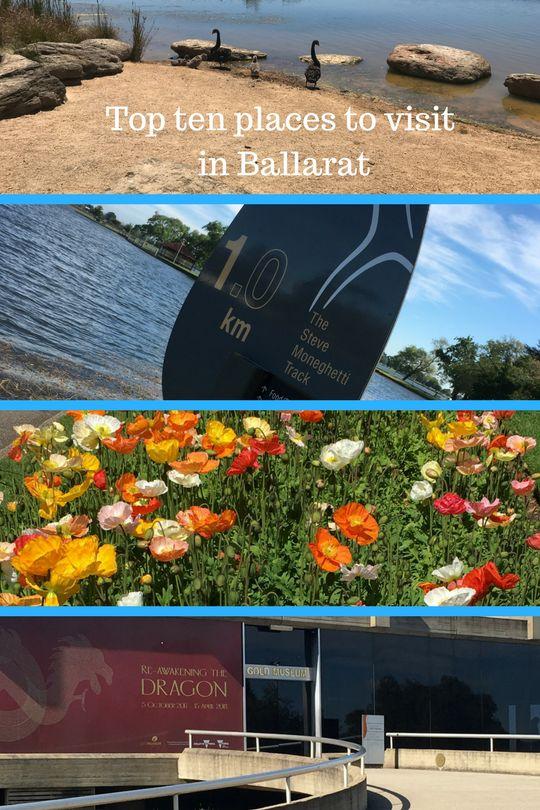 Top ten places to visit in Ballarat