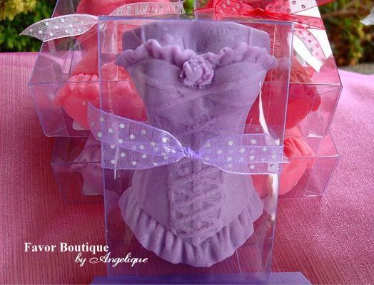 CORSET SOAP FAVORS 1 Favor  Bridal Shower by favorsbyangelique, $2.65
