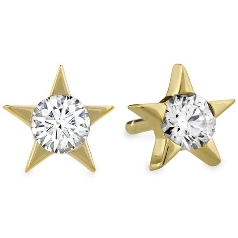 "Hearts on Fire ""Illa Diamond Stud Earrings"""