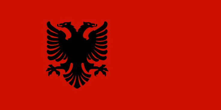 flag of albania 1943 1944 bandeira da alb 226 nia