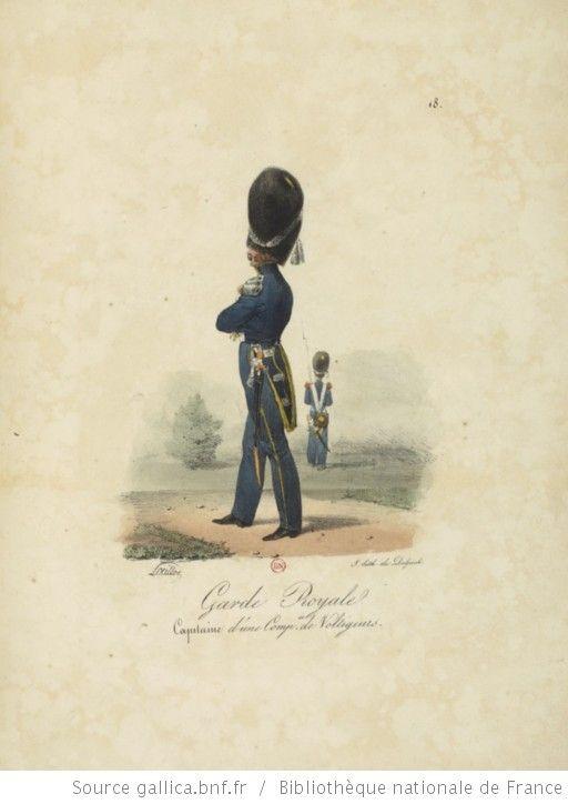 [Maison du Roi et garde royale de Louis XVIII, 1817.] / Ch. Aubry - 23