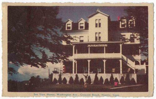 Sea View Manor, Crescent Beach, Niantic, Connecticut - bidStart (item 41983377 in Postcards... Other)