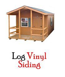 Vinyl Log Siding