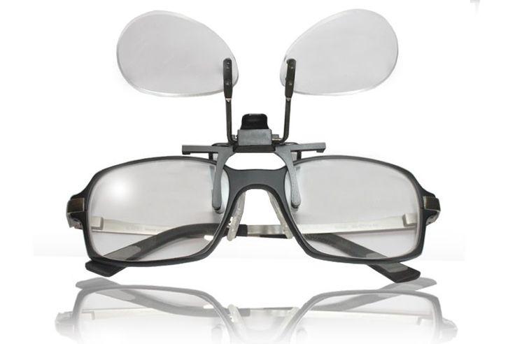Sistema de lupas bifocales para las gafas