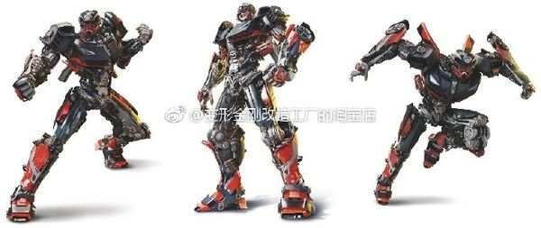 Transformers: The Last Knight - Full Body Hot Rod Images Leaked!