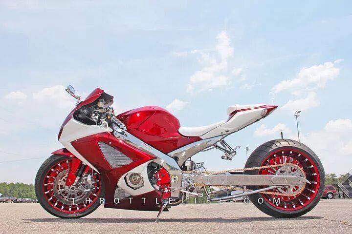 Fat Tire Suzuki GSXR Motorcycle #pashnit http://www.PashnitBusa.com