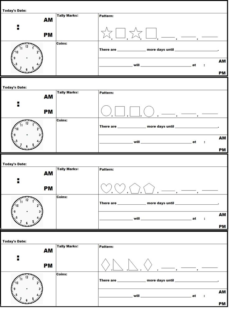 A FREE printable document of Saxon Math 2nd Grade Meeting Strip