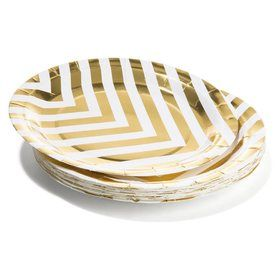 Shimmer Plates - Pack of 16