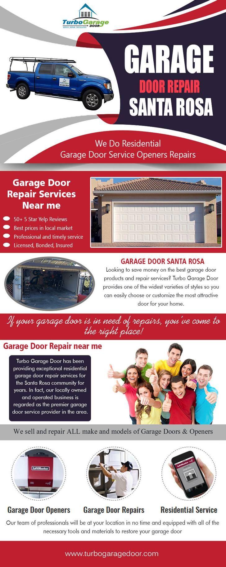Garage Door Repair Santa Rosa Garage Door Repair Garage Doors Garage Door Installation