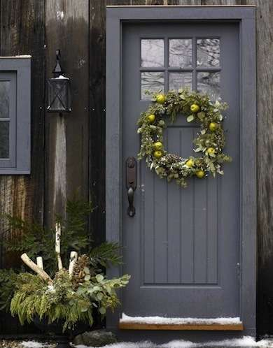 The Grace of Gray - Front Door Colors - 10 Ways to Make an Entrance - Bob Vila