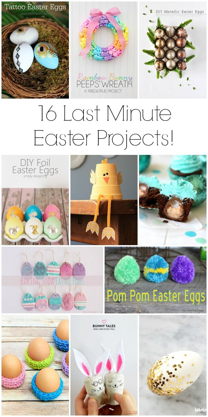 16 great last minute Easter projects