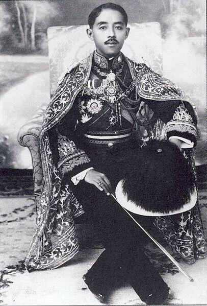 Chakrabongse Bhuvanadh, Prince of Phitsanulok, (Thai: จักรพงษ์ภูวนาถ; RTGS: Chakkraphongphuwanat; 3 March 1883 – 13 June 1920), was the 40th child of King Chulalongkorn and the fourth child of Queen Sri Bajarindra.