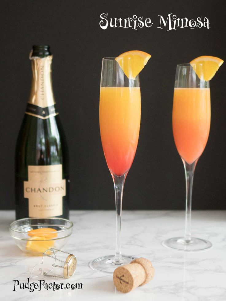Sunrise Mimosa is a refreshing and simple twist on a classic cocktail, making it the perfect drink for a Mother's Day brunch!  via @c2king