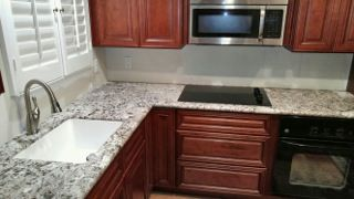 #Charleston Cherry #Kitchen #remodeling By Lily Ann #Cabinets #homedecor #kitchendesign