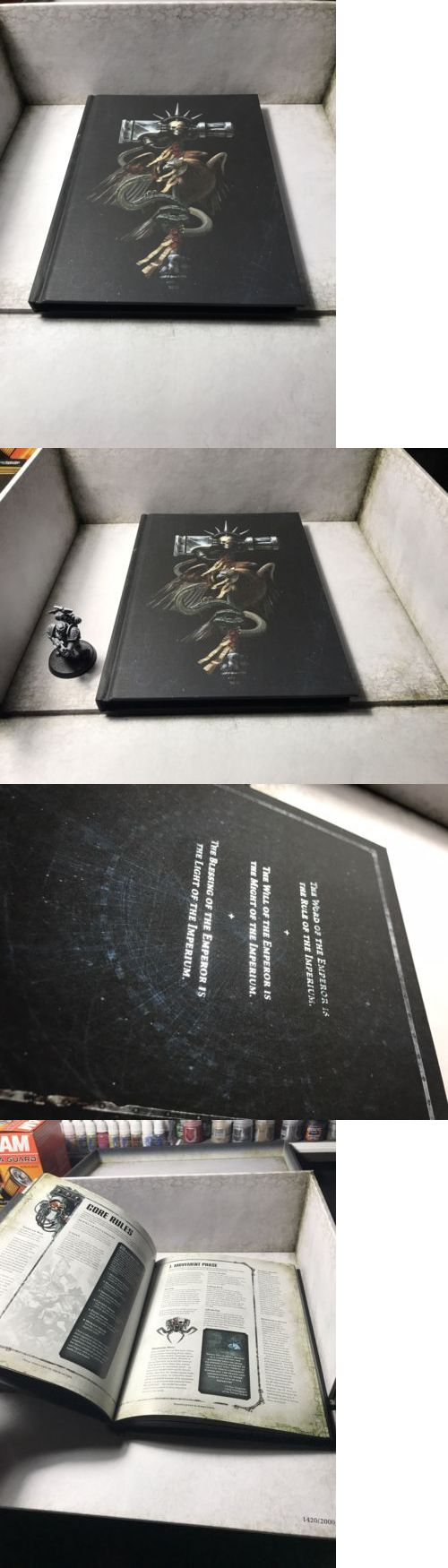 40K Rulebooks and Publications 90944: Warhammer 40K 8Th Limited Collector S Edition Hard Cover Mini Rulebook -> BUY IT NOW ONLY: $75 on eBay!