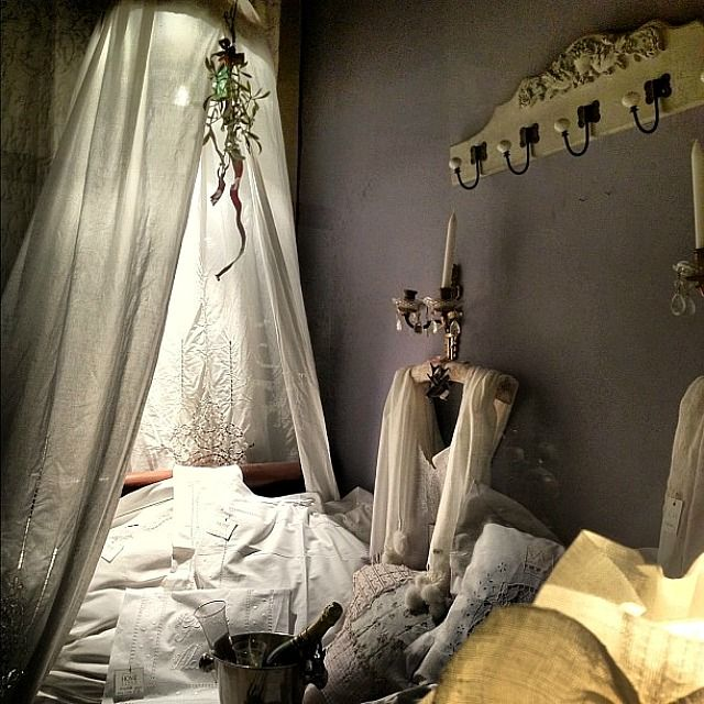 ways to hang a mosquito net over a bed | in your bedroom by hanging gauzy mosquito netting over your bed ...