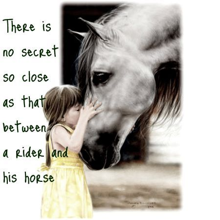 *Her horse*