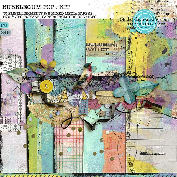 Bubblegum Pop: Kit By Captivated Visions