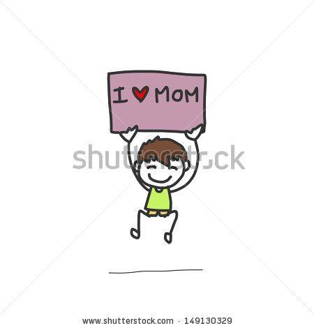 stock-vector-hand-drawing-cartoon-character-happy-family-149130329.jpg (450×470)