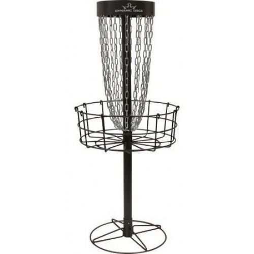 Dynamic+Discs+Marksman+Basket+-+Portable The+Dynamic+Discs+Marksman+Basket+is+a+lightweight+metal+portable+basket+that+is+narrower,+slimmer+than+regular+baskets.+It+sharpens+your+mental+game+by+forcing+you+to+focus+more+while+putting.+The+results+are+more+repeatable+putts+and+making+you+a+better+putter.+With+this+disc+golf+practice+basket+you+will+gain+more+confidence+and+lower+your+score.  The+Marksman+Basket+Features:   15+zinc+coated+chain+sets Electrophoresed+first+then+powder+coat...
