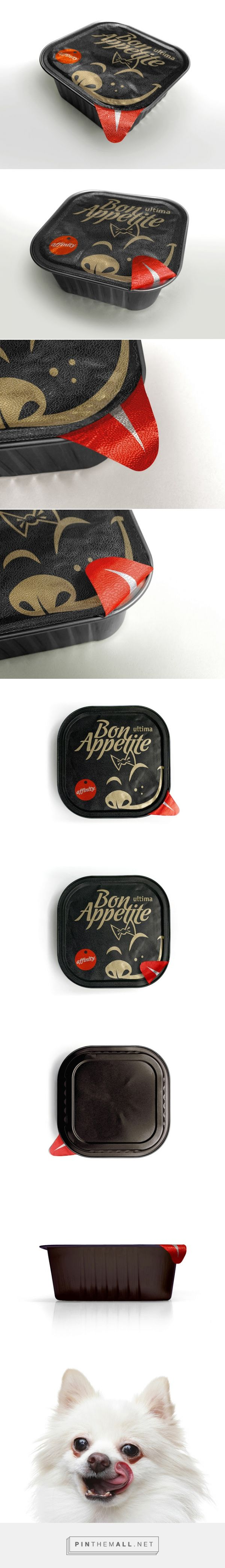 Affinity Ultima Bon Appetite pet food packaging designed by Marcal Prats - http://www.packagingoftheworld.com/2016/01/affinity-ultima-bon-appetite-concept.html