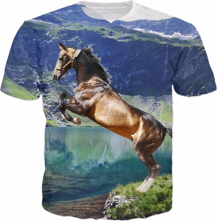 Horse and Lake T-Shirt
