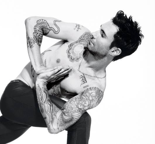 oh sweet mother of god.  I will now have this picture in my mind when I do yoga!