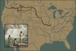 The National Geographic Lewis and Clark Expedition webpage. Fun and interactive, it's a great way for students to learn more about Lewis and Clark's journey!