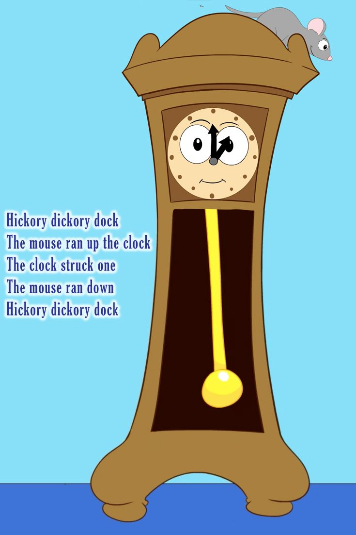 Here S A Free Video About Hickory Ory Dock Kids Love Singing Along With This Nursery Rhyme Song Great For Home Preschool Or Kindergarten