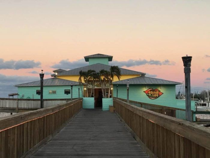 Squid Lips Restaurant should be a bucket-list-must for anybody on the east coast of Florida.