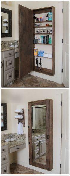 17 Projets de palettes Vous pouvez faire pour votre salle de bain Etagères de palettes et palettes Cintres
