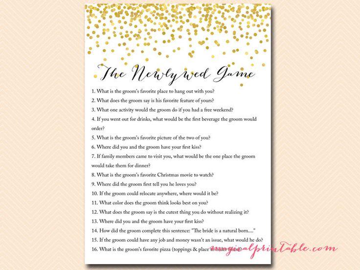 Best 25+ Bridal shower newlywed game ideas on Pinterest Wedding - bridal shower checklist
