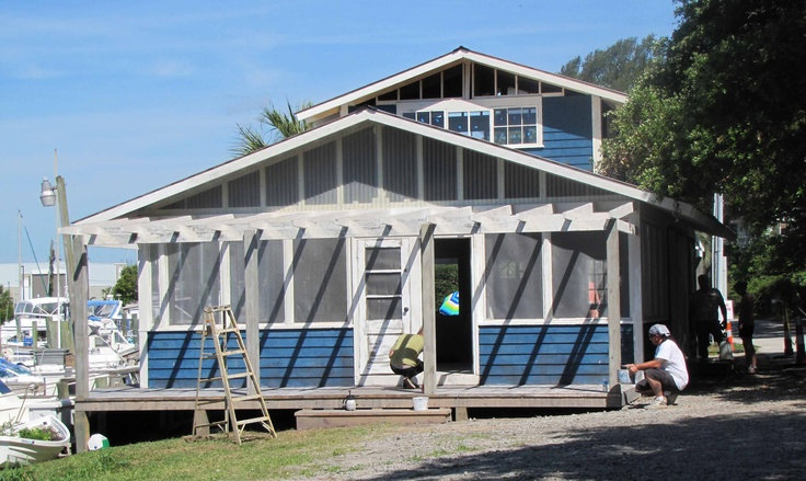 Ryan's Port Market, the general store, was built along the