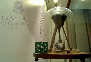 Pitch Drop Experiment - are you watching? You could be the first person to see it drop since 1927.