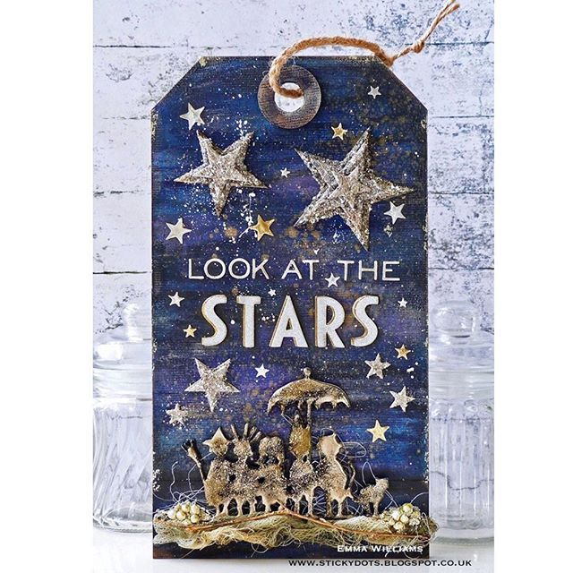 We have a brand new challenge starting today over on the @simonsaysstamp Monday Challenge Blog and the theme is called WRITTEN IN THE STARS ✨ We hope you'll join us and play along and also pop over to my blog to check out the project I made using dies from @tim_holtz and @Sizzix and inspired by a line in a Coldplay song! #sssmchallenge #simonsaysstamp #tim_holtz #sizzix #rangerink #coldplay #mixedmedia #inspiredbyasong