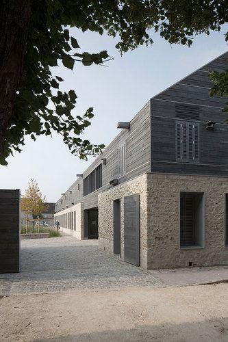 Maison du Parc Naturel Regional du Gatinais Français | #gres #pierre #architecture #design