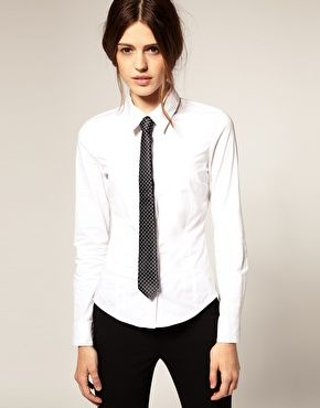 Skinny tie - photo