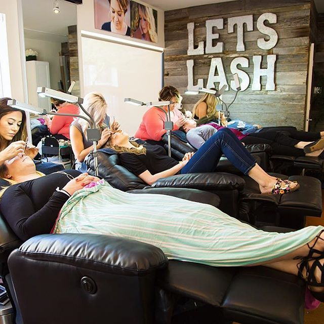 Eyelash Extensions Salon Set Up Ideas: Let's Lash Studio