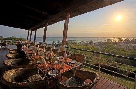 Pôr-do-Sol no Hotel Cardoso, Maputo, Moçambique